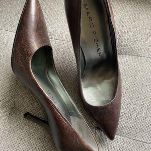 Marc Fisher Brown Heels